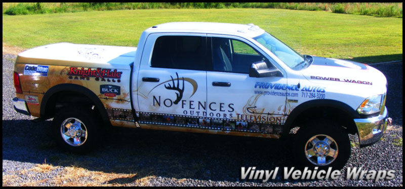 Vinyl Vehicle Wraps in Jackson TN